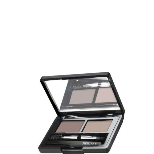 001 Blonde Eyebrow Design Set Kit Sourcils Parfaits - Cire Fixante + Poudre Couleur