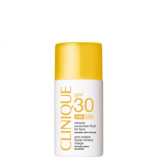 Clinique Sun Soin Solaire Fluide Minéral Visage SPF 30
