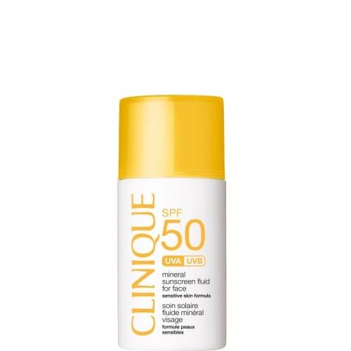 Clinique Sun Soin Solaire Fluide Minéral Visage SPF50