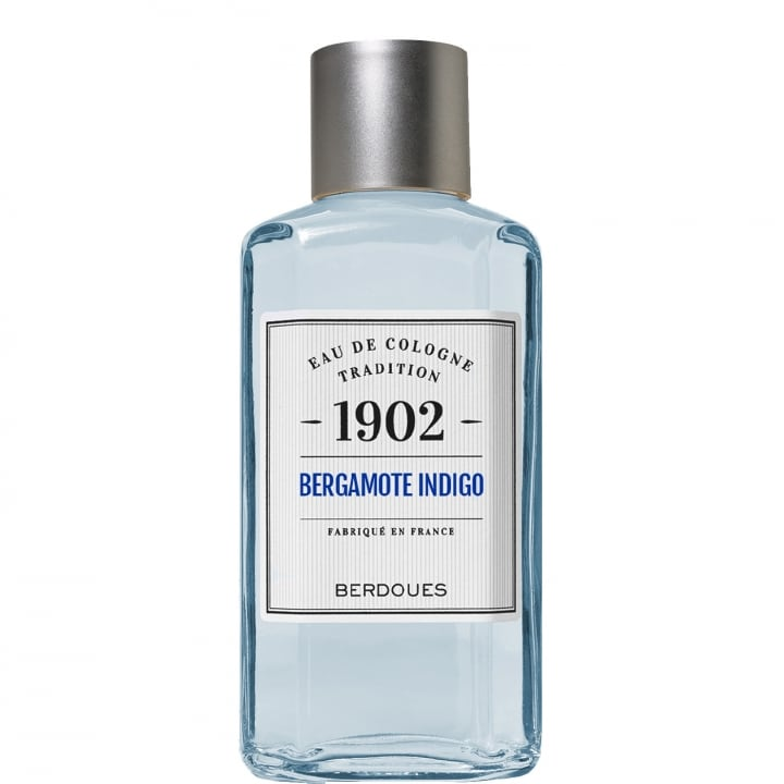 1902 Tradition Bergamote Indigo Eau de Cologne 480 ml - Berdoues - Incenza