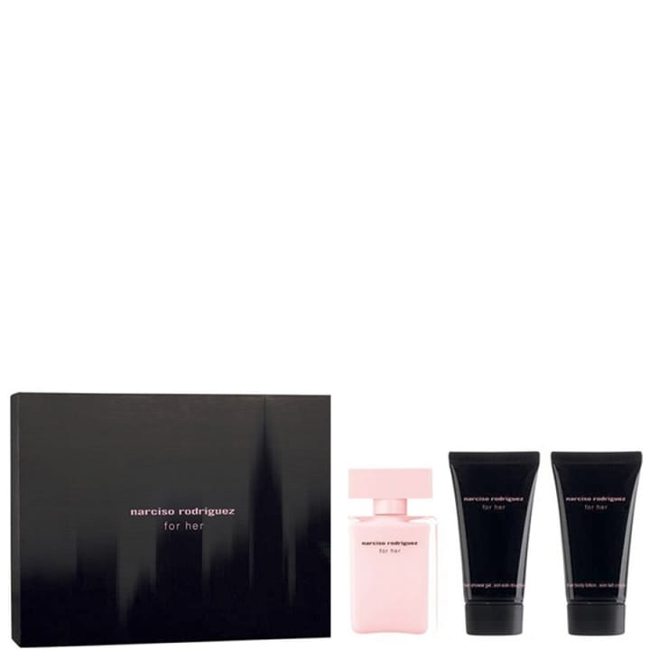 For Her Coffret Eau de Parfum - Narciso Rodriguez - Incenza