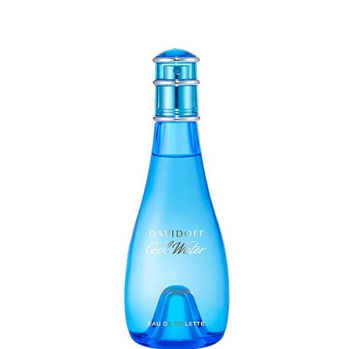 Cool Water Woman Eau de Toilette - Davidoff - Incenza