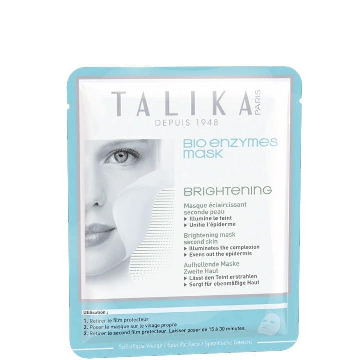 Bio Enzymes Mask Brightening Masque Éclaircissant Seconde Peau en Biocellulose - Talika - Incenza