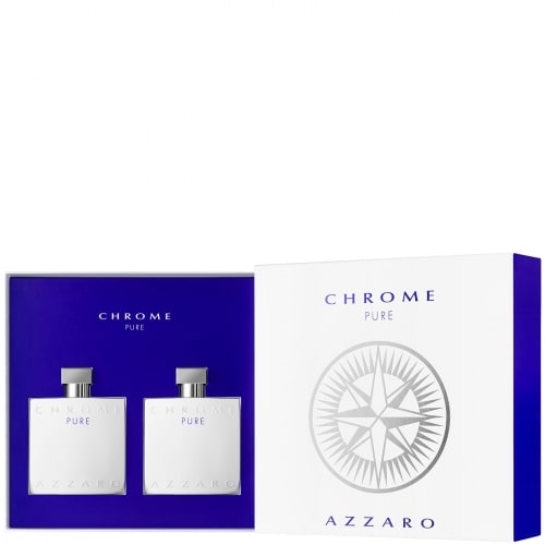 Azzaro Chrome Pure Coffret Eau de Toilette