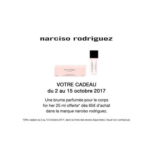 Votre Cadeau Une Brume parfumée Narciso Rodriguez
