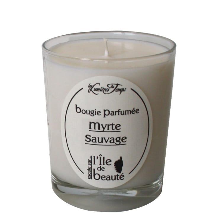 Bougie Végétale Myrte Sauvage - Les Lumières du Temps ANCIEN - Incenza