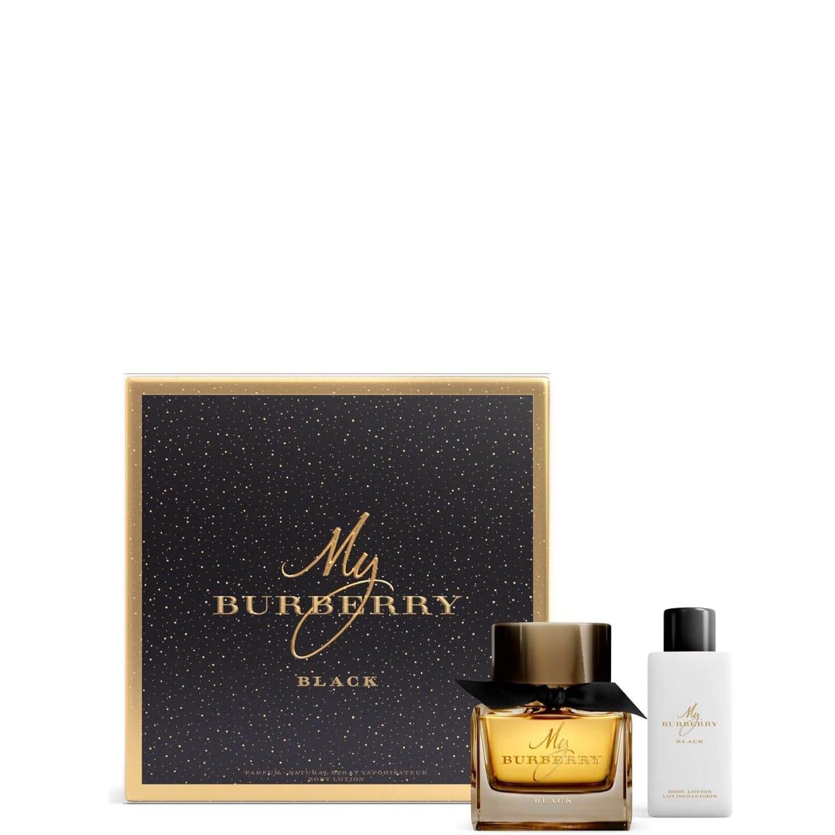 my burberry black coffret parfum incenza. Black Bedroom Furniture Sets. Home Design Ideas