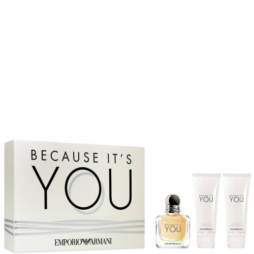 Emporio Armani Because It's You Coffret Eau de Parfum