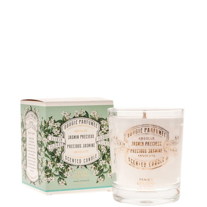 Absolue Jasmin Précieux Bougie Parfumée - Panier des Sens - Incenza
