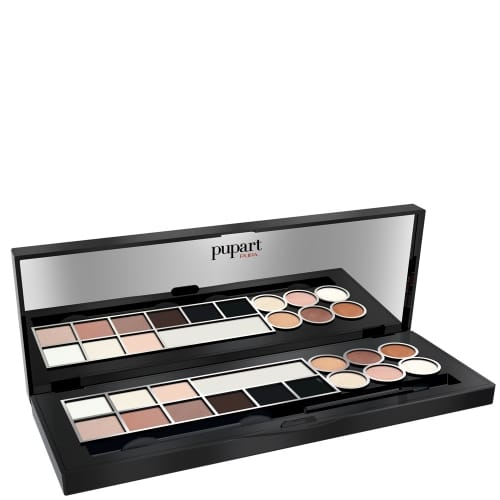 Pupart Eyes Warm Natural Palette Maquillage Yeux