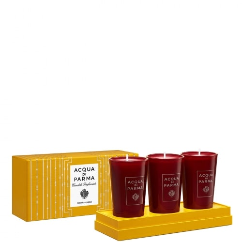 BOUGIES NOEL COFFR 3 X 65 G