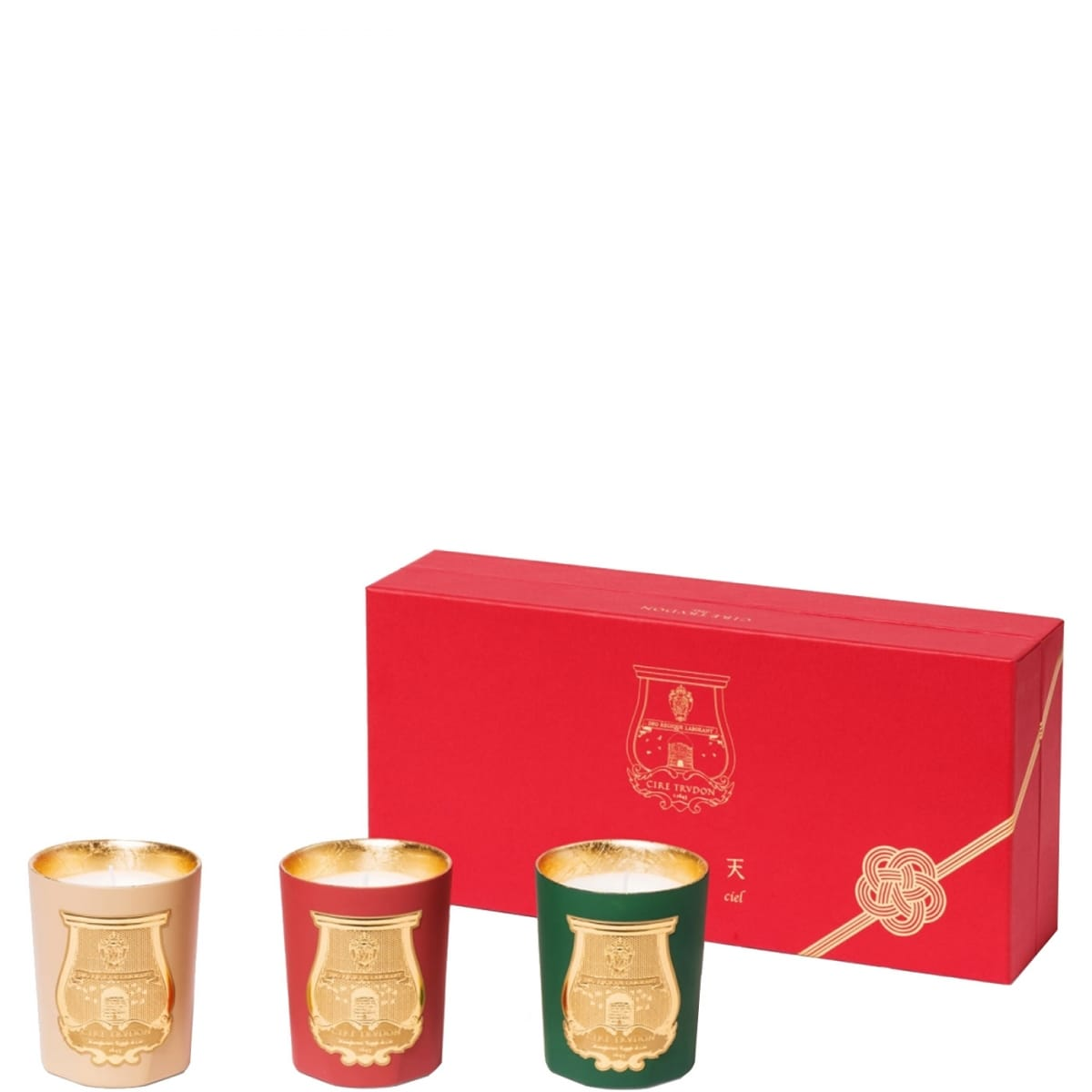 odeurs d 39 hiver de cire trudon coffret bougies parfum es incenza. Black Bedroom Furniture Sets. Home Design Ideas