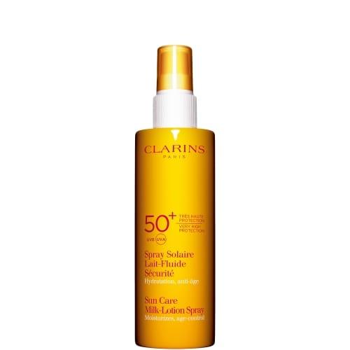 Spray Solaire Lait-Fluide Sécurité Très Haute Protection UVA/UVB 50+