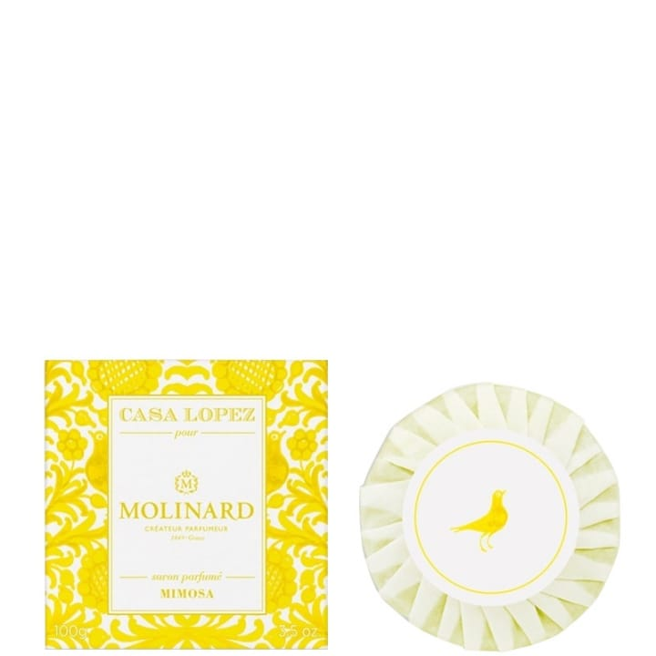 Casa Lopez Mimosa Savon Parfumé - Molinard - Incenza