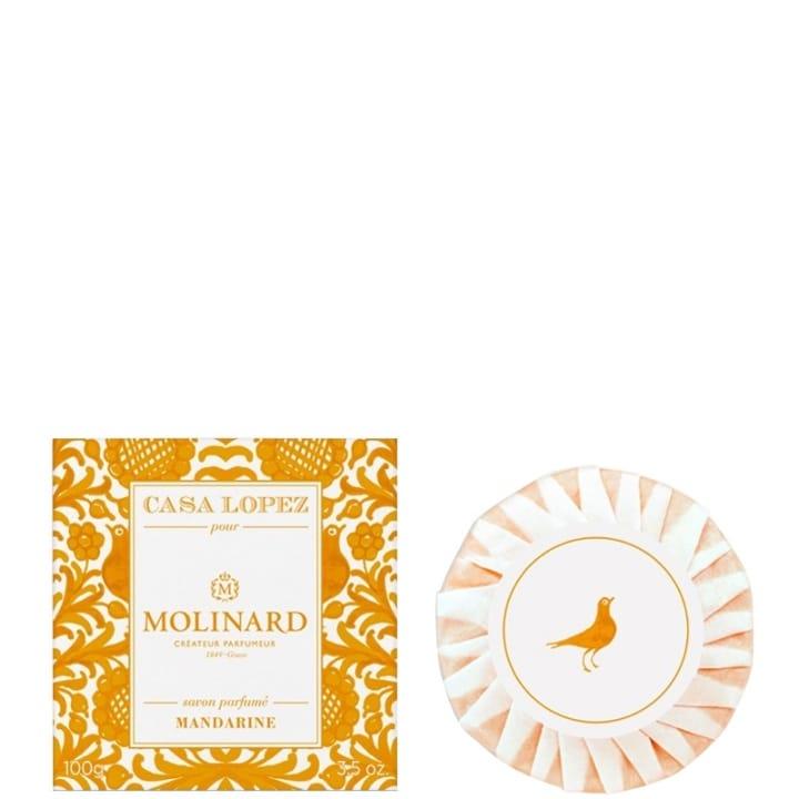 Casa Lopez Mandarine Savon Parfumé - Molinard - Incenza