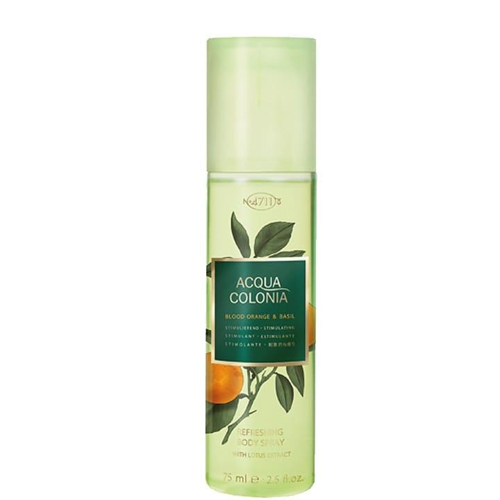 Orange Sanguine et Basilic Spray Rafraîchissant pour le Corps - 4711 - Incenza