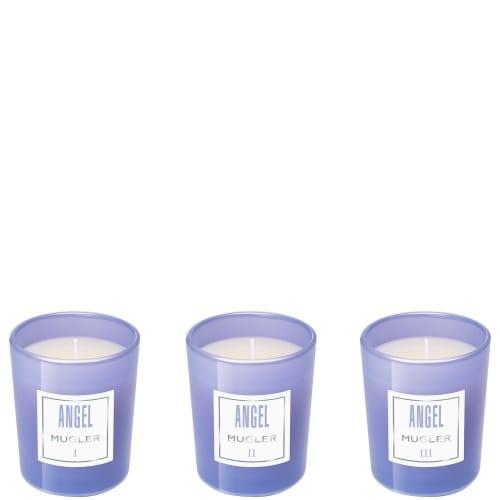 Angel Collection de Trois Mini Bougies Parfumées