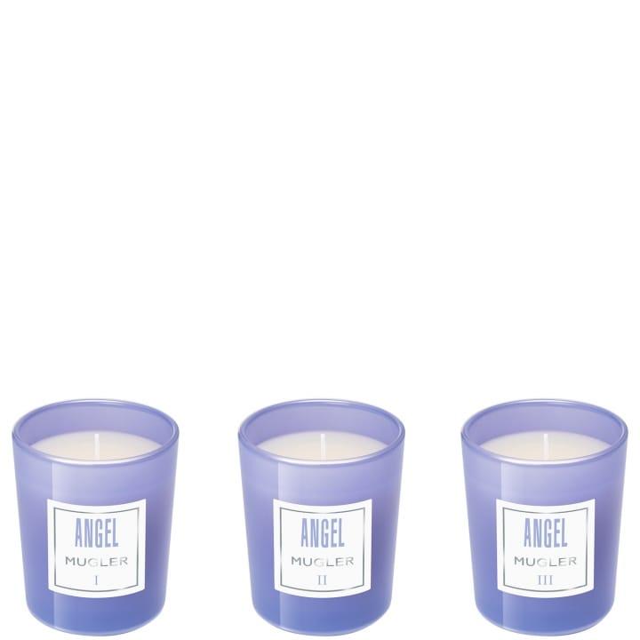 Angel Collection de Trois Mini Bougies Parfumées - MUGLER - Incenza