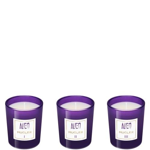 Alien Collection de Trois Mini Bougies Parfumées