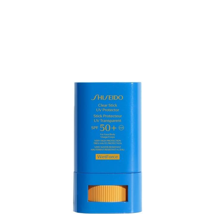 WetForce Stick Protecteur UV Transparent SPF 50+ - SHISEIDO - Incenza