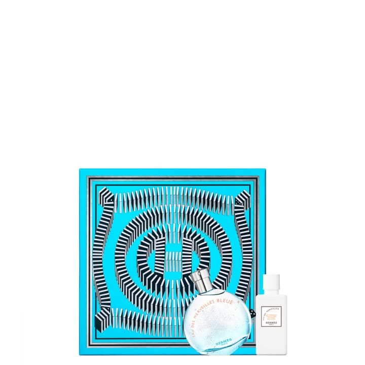 Coffret Eau des Merveilles Bleue Eau de Toilette 50 ml - HERMÈS - Incenza