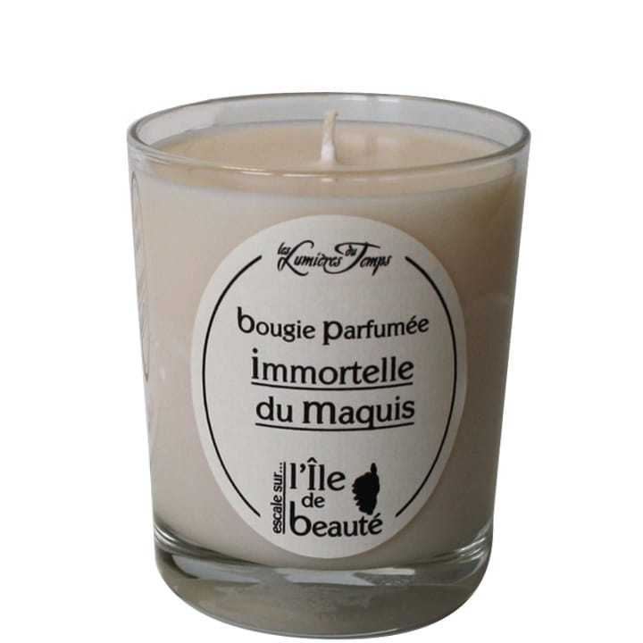 Bougie Végétale Immortelle du Maquis - Les Lumières du Temps ANCIEN - Incenza