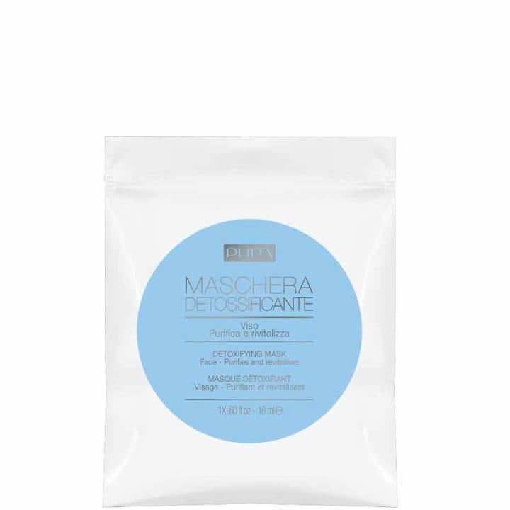 Masque Détoxifiant, Purifiant et Revitalisant Monodose - Pupa - Incenza