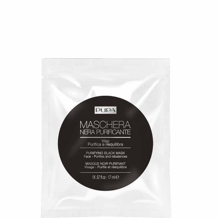 Masque Noir Purifiant Peau purifiée et rééquilibrée en 15 minutes - Pupa - Incenza
