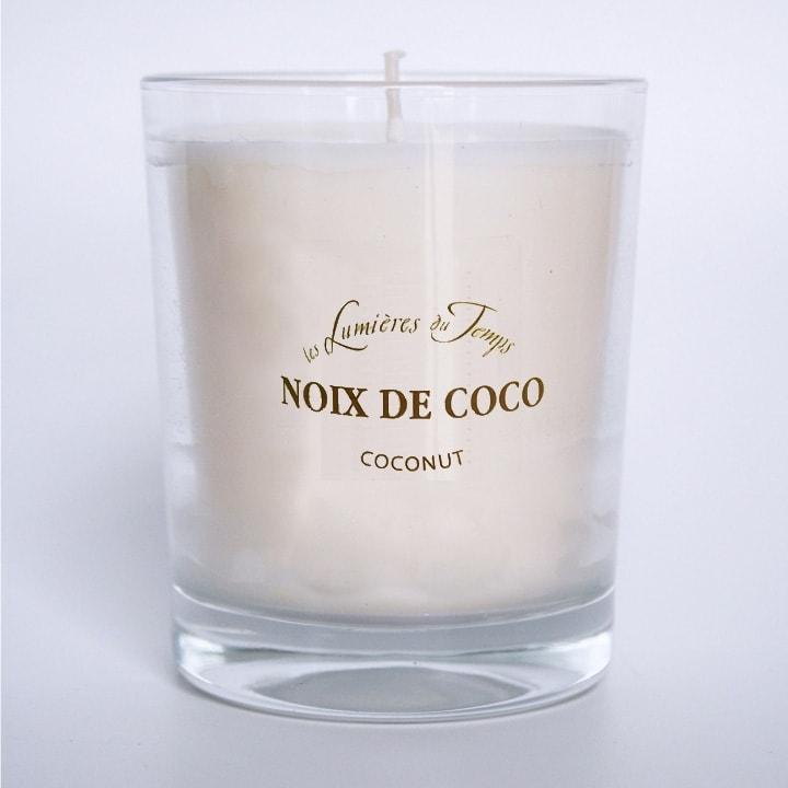 Bougie Végétale Noix de Coco - Les Lumières du Temps - Incenza