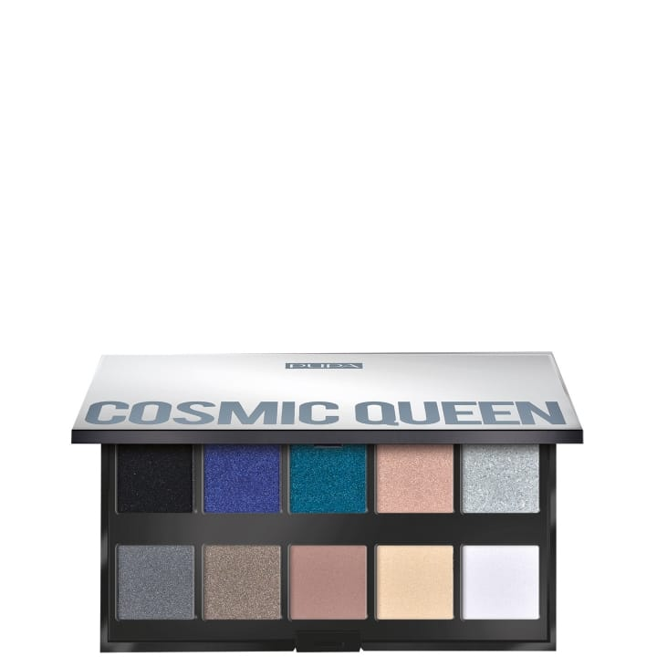Cosmic Queen Make Up Stories Palette de 10 ombres à paupières - Pupa - Incenza