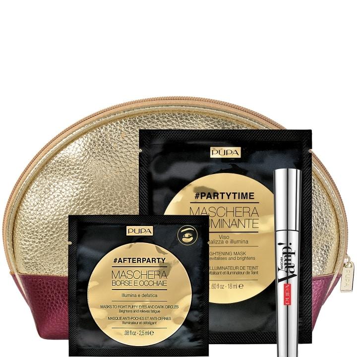 Vamp! Mascara & Masque Illuminateur & Patchs Contour des Yeux Coffret Maquillage - Pupa - Incenza