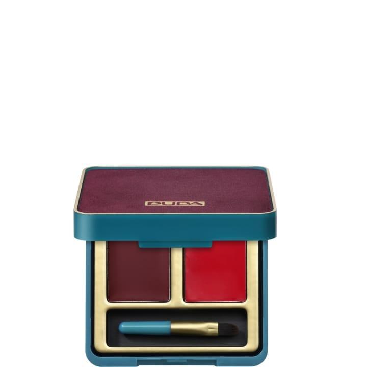 Retro-Lip Palette Palette pour les Lèvres Duo – Mat & Brillant - Pupa - Incenza