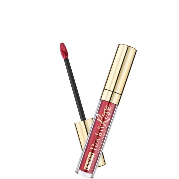 Rock&Rose Metalmatt Lip Fluid Rouge à Lèvres Liquide Métallisé Mat - Pupa - Incenza