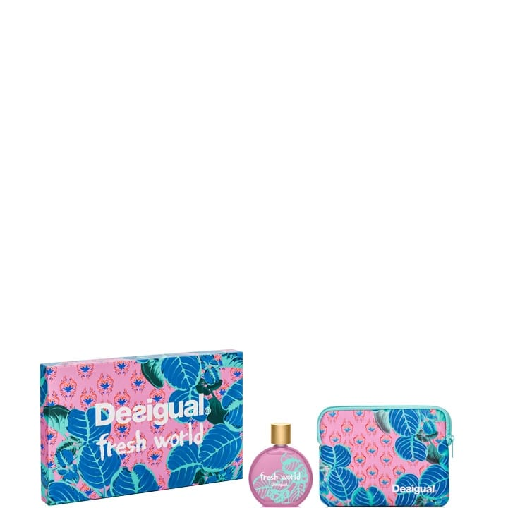 Fresh World Coffret Eau de Toilette - Desigual - Incenza
