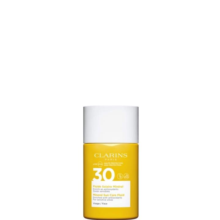 Fluide Solaire Minéral - Visage UVA/UVB 30 Enrichi en Anti-Oxydants - CLARINS - Incenza