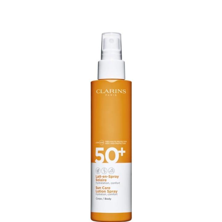 Lait-en-Spray Solaire Corps UVA/UVB SPF50+ Hydratation et Confort - CLARINS - Incenza