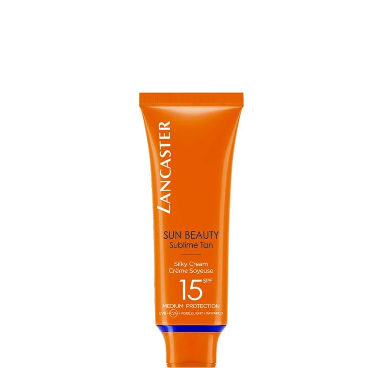 Sun Beauty Crème Soyeuse Bronzage Lumineux SPF 15 - Lancaster - Incenza