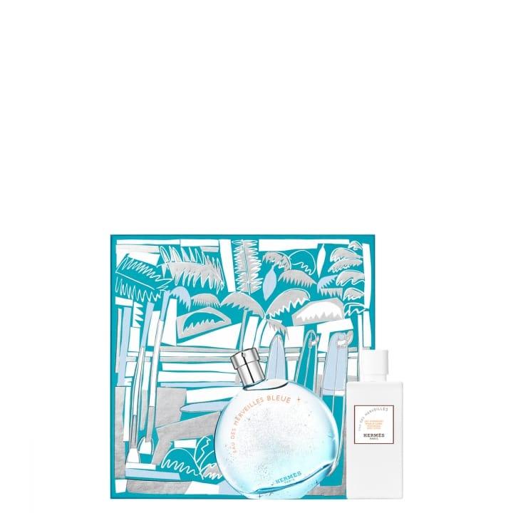 MERVEILL.BLEUE COF EDT100+LAIT80  - HERMÈS - Incenza