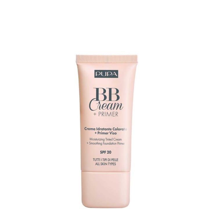BB Cream + Primer Tout Type de Peau Crème Hydratante Teintée + Base de Pré-maquillage - Pupa - Incenza