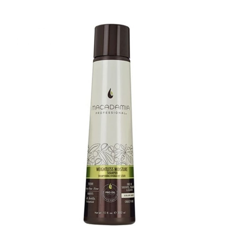 Weightless Moisture Shampooing Hydratant Léger - Macadamia - Incenza