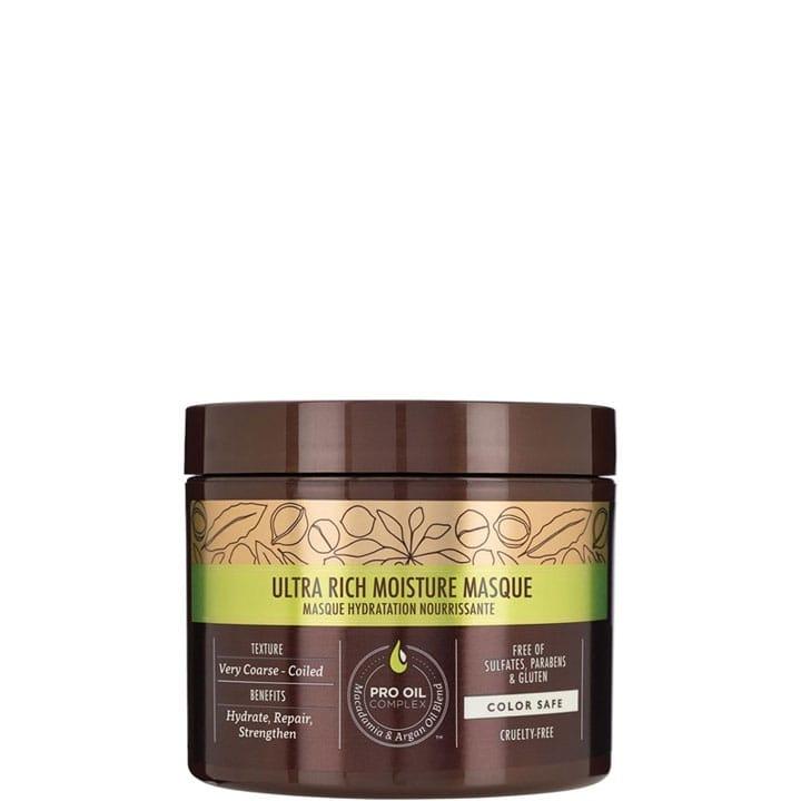 Ultra Rich Moisture Masque Hydratation Nourrissante - Macadamia - Incenza