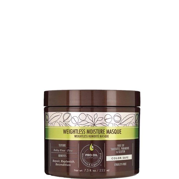 Weightless Moisture Masque Hydratant Léger - Macadamia - Incenza