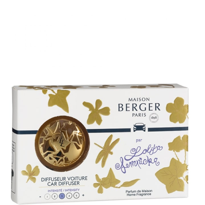 Lolita Lempicka Or Satiné Diffuseur Voiture - Maison Berger Paris - Incenza