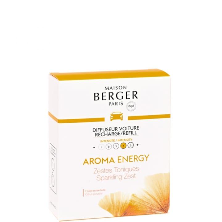 Aroma Energy Recharge diffuseur voiture - Maison Berger Paris - Incenza