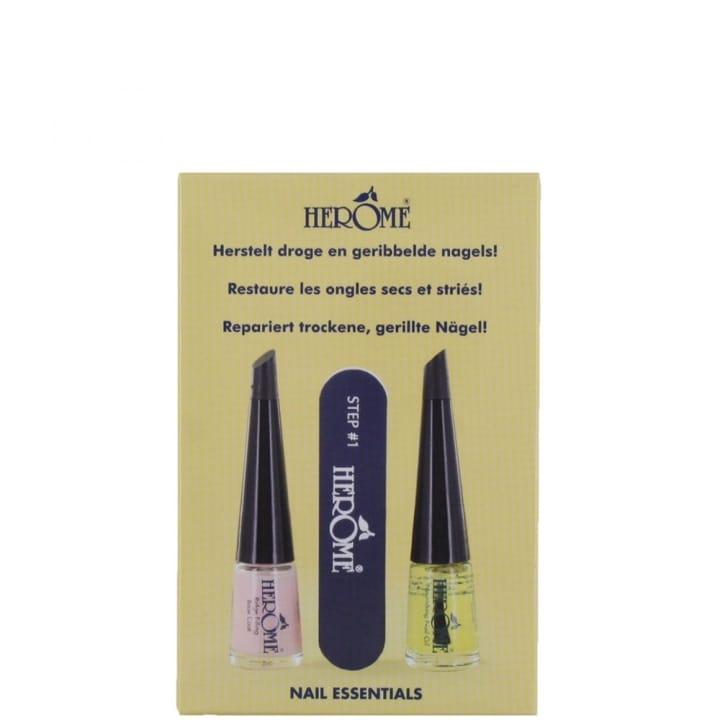 Nails essential Set Set Pour Ongles Secs et Striés - Hérôme - Incenza