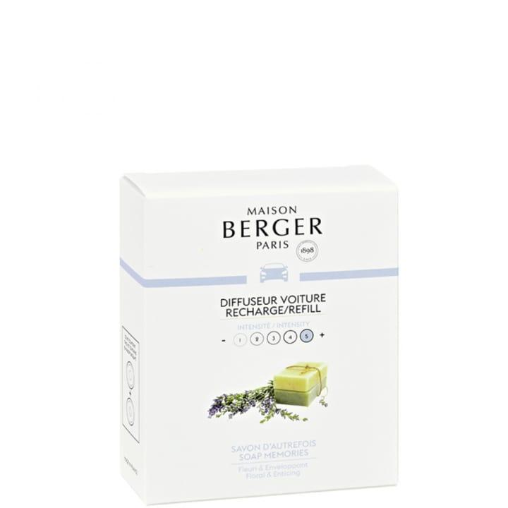 Savon d'autrefois Recharges Diffuseur voiture - Maison Berger Paris - Incenza