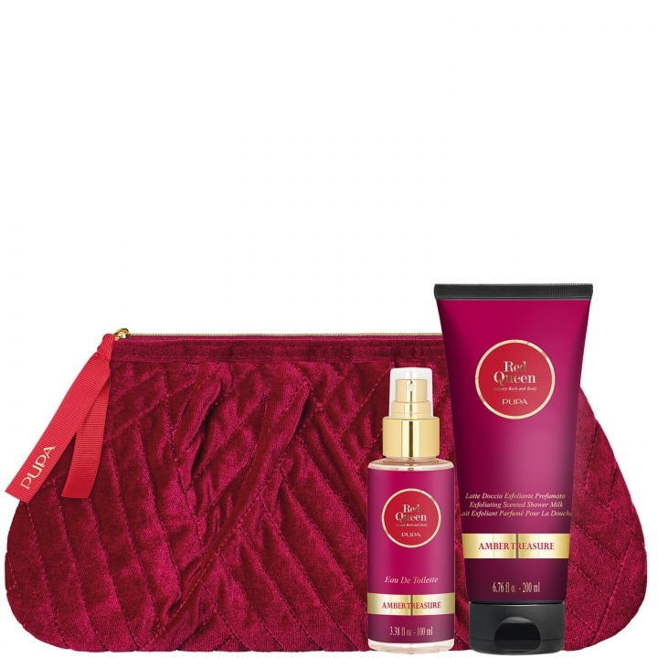 Kit Red Queen 2 Amber Treasure Coffret Soin - Pupa - Incenza