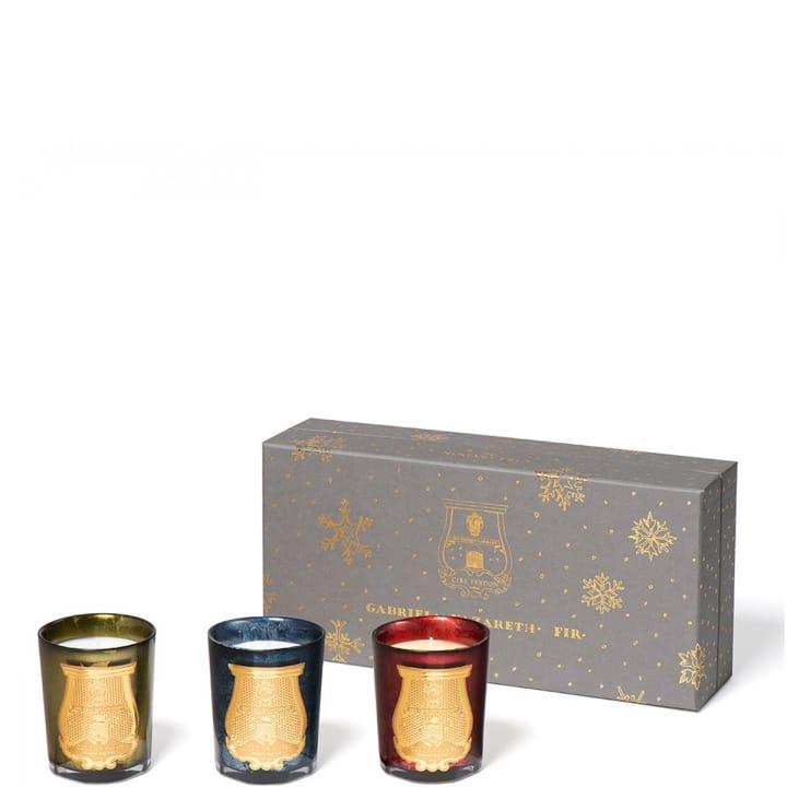 Coffret Edition Limitée Gabriel/Nazareth/Pin Coffret Bougies Parfumées - Cire Trudon - Incenza