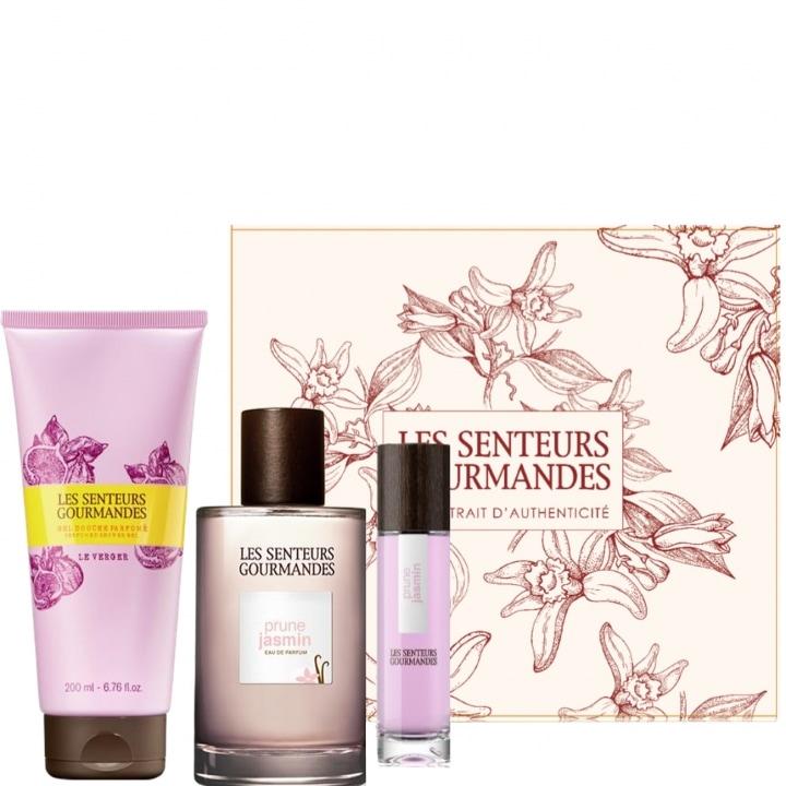 Prune Jasmin Coffret Eau de Parfum - Les Senteurs Gourmandes - Incenza