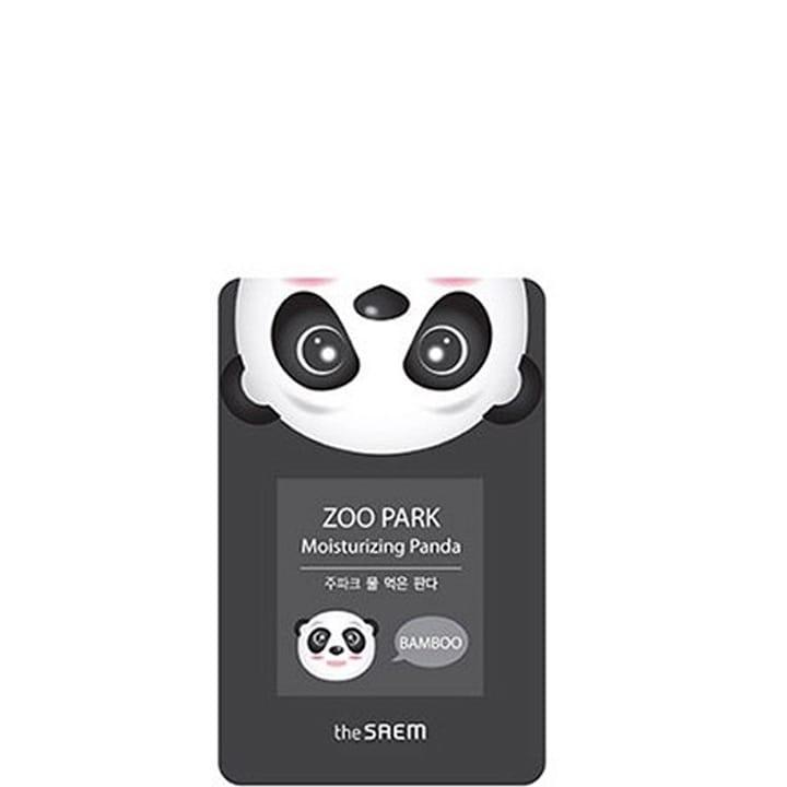 Zoo Park Masque Tissu Hydratant Panda à l'Eau de bambou - The Saem - Incenza